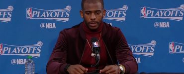 "Chris Paul to Reporter: ""Everyone is laughing at you."""