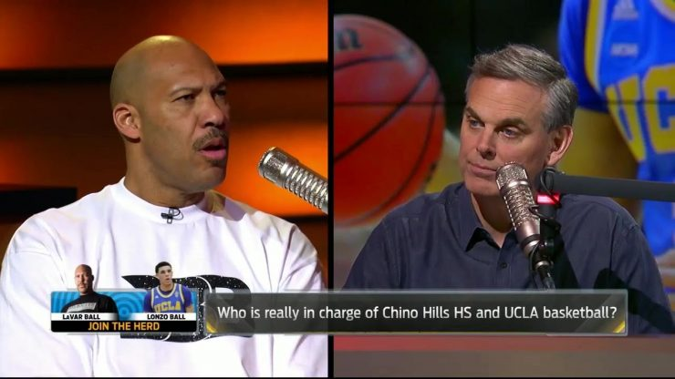 "Lavar Ball Throws Shade at Kristine Leahy with new Big Baller Brand ""Stay in Yo' Lane"" shirt"