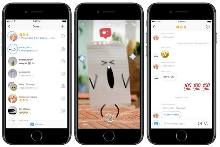 Instagram Adds Direct Links and Landscape/Portrait Photos to Direct Messaging