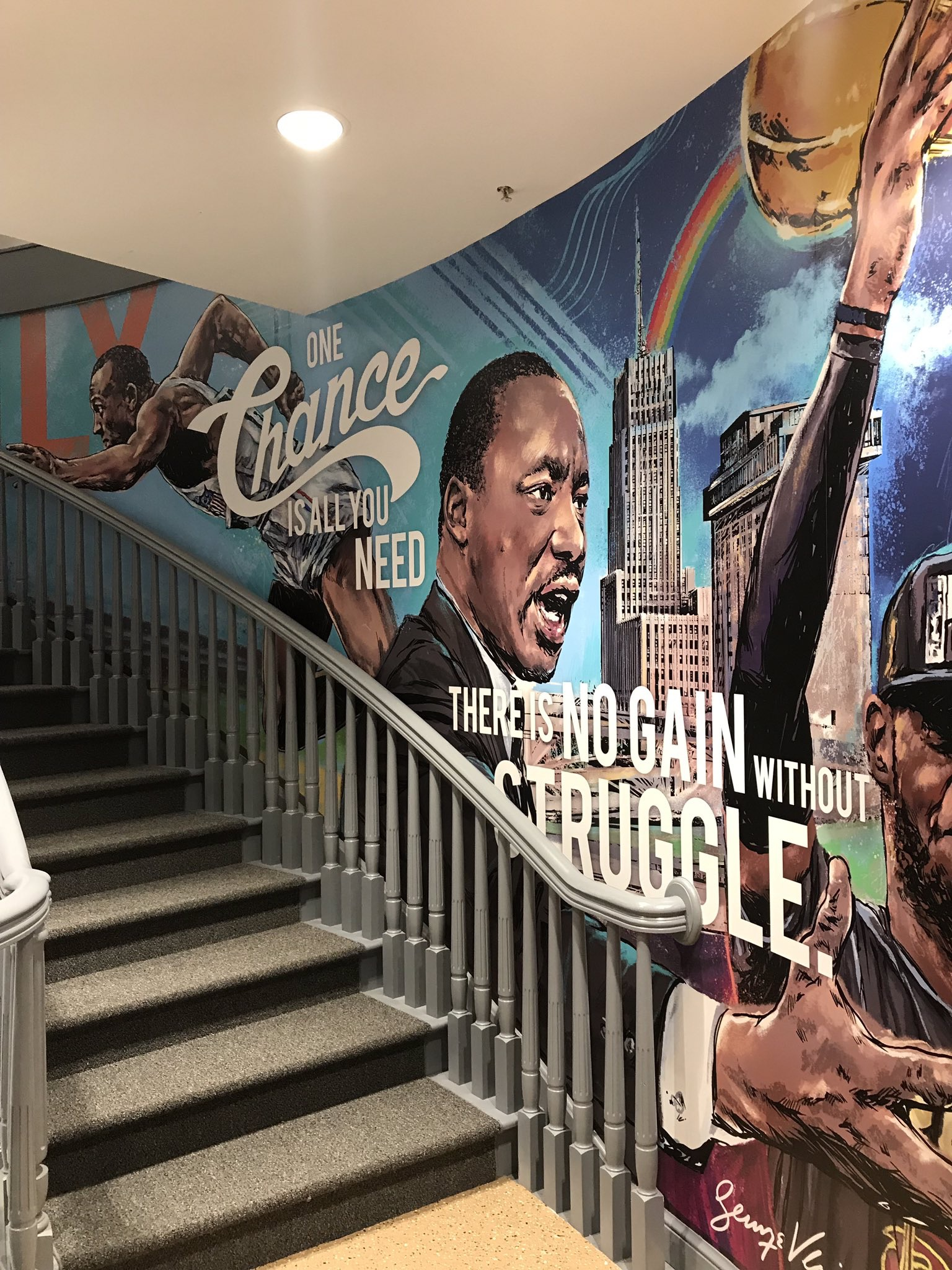 Q&A with the Muralist for LeBron James' I Promise School