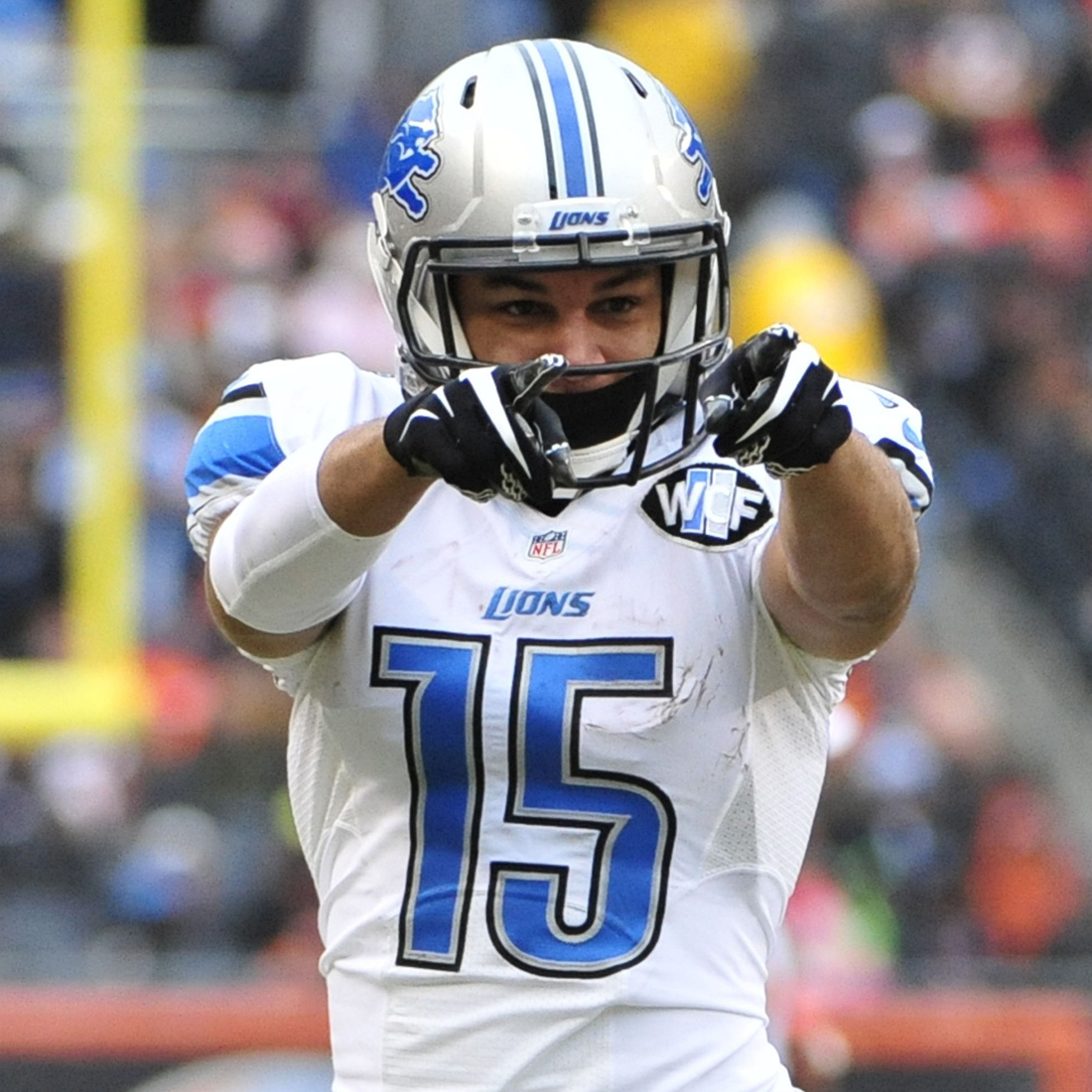 Detroit Lions' Golden Tate to Wear Custom Cleats in Honor of Craig Sager