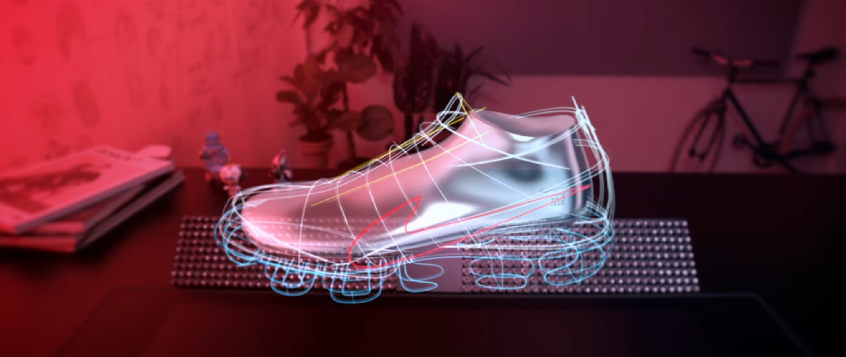 Augmented Reality Sneaker