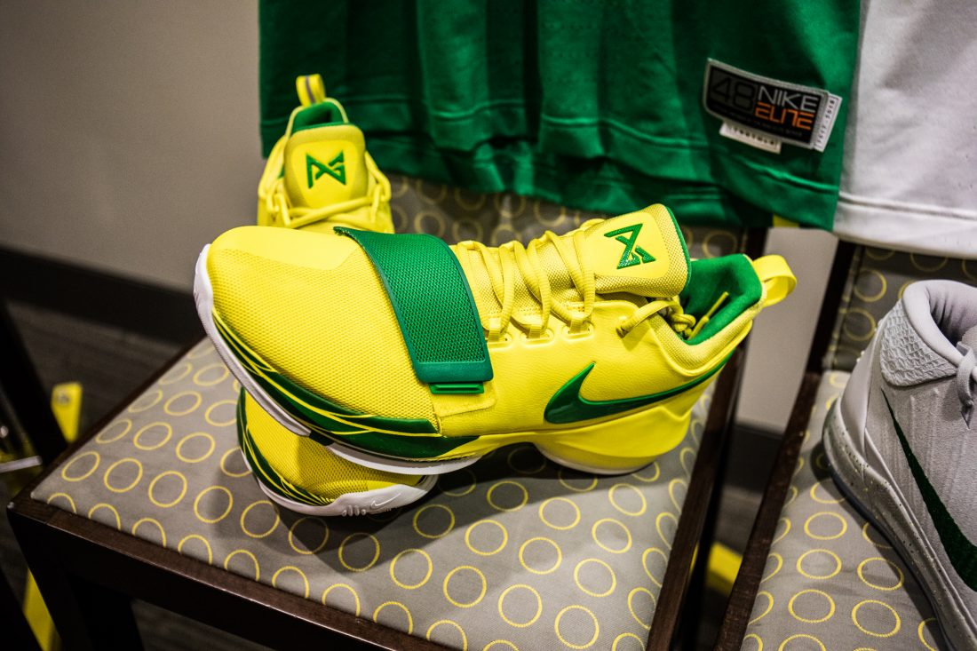 Oregon Basketball Locker Room