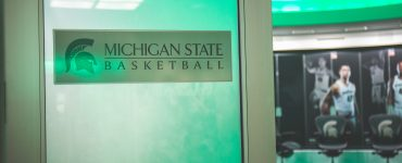 Michigan State Basketball Locker Room